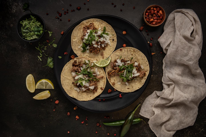 TACOS de Pechito de Ternera · Solito Taqueria Mexicana