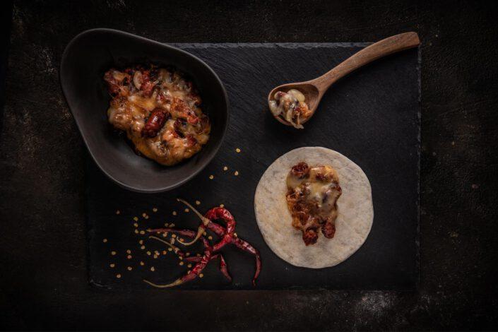 QUESO FUNDIDO Toluqueño (Chorizo) · Solito Taqueria Mexicana